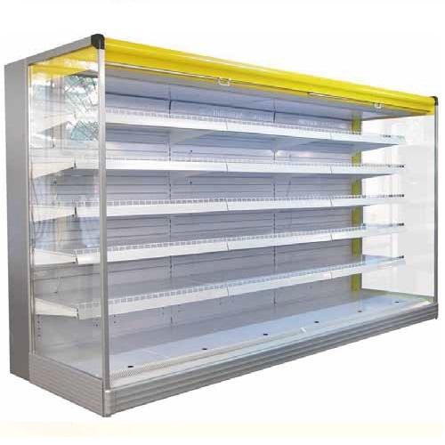 Contamos con autoservicios refrigerados para la exhibición de lácteos, autoservicos de fruver, el largo es determinado por el cliente y se pueden fabricar desde 1 m en adelante.